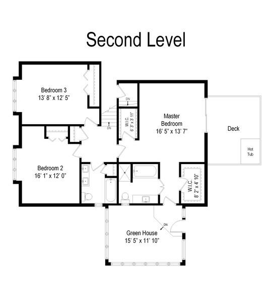 Real Estate Photography - 20943 N Heather Court, Kildeer, IL, 60047 - Floor Plan