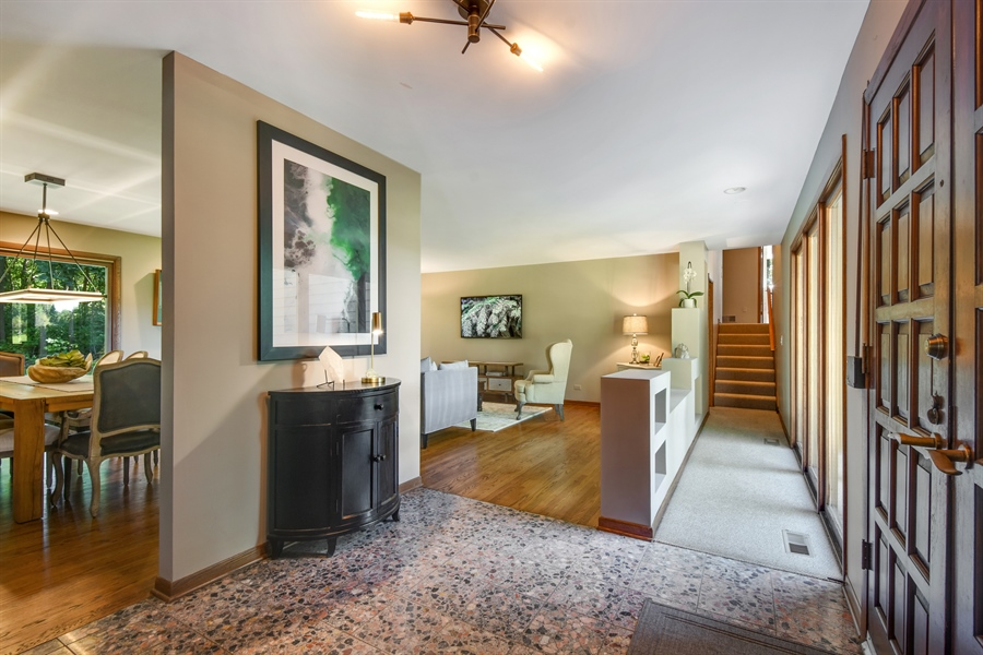 Real Estate Photography - 20943 N Heather Court, Kildeer, IL, 60047 - Foyer
