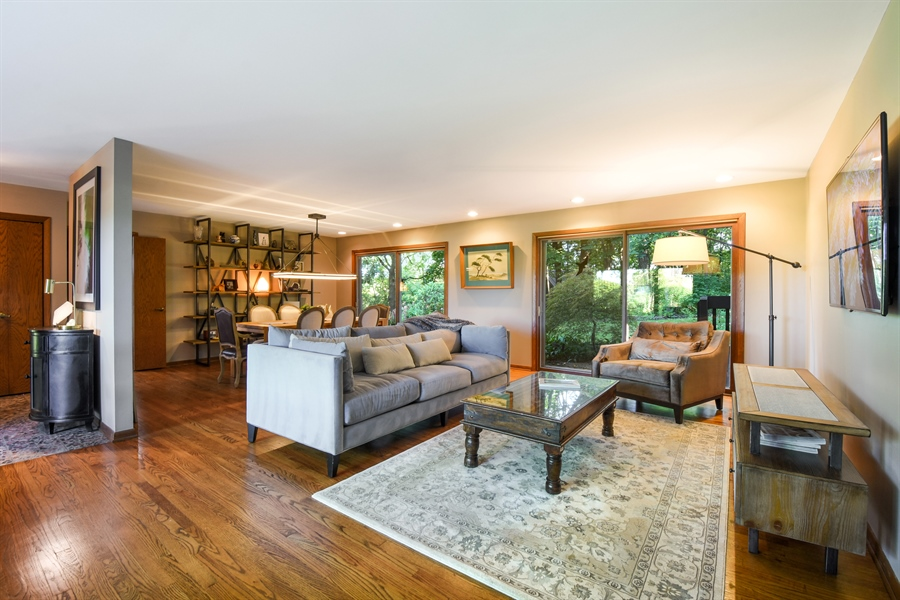 Real Estate Photography - 20943 N Heather Court, Kildeer, IL, 60047 - Living Room / Dining Room