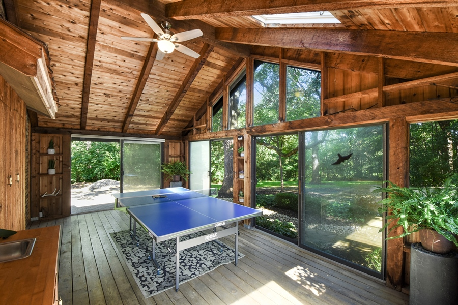 Real Estate Photography - 20943 N Heather Court, Kildeer, IL, 60047 - Sun Room