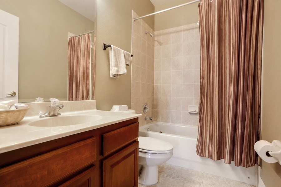 Real Estate Photography - 2614 Brookforest Dr, Wesley Chapel, FL, 33544 - 3rd Bathroom