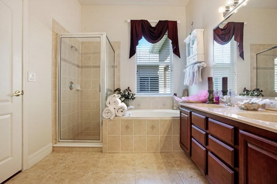 Real Estate Photography - 2614 Brookforest Dr, Wesley Chapel, FL, 33544 - Master Bathroom