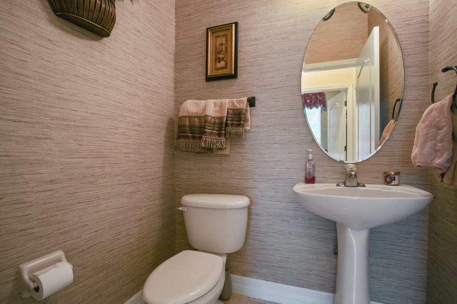 Real Estate Photography - 2614 Brookforest Dr, Wesley Chapel, FL, 33544 - Powder Room