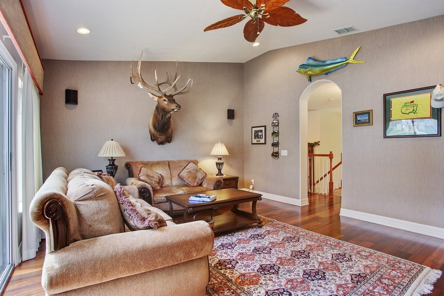 Real Estate Photography - 2614 Brookforest Dr, Wesley Chapel, FL, 33544 - Great Room