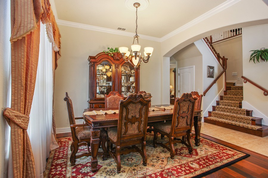 Real Estate Photography - 2614 Brookforest Dr, Wesley Chapel, FL, 33544 - Dining Room