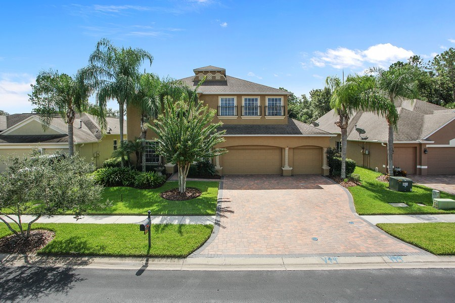 Real Estate Photography - 2614 Brookforest Dr, Wesley Chapel, FL, 33544 - Front View