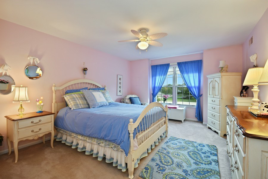 Real Estate Photography - 1074 O'Malley Court, Lake Zurich, IL, 60047 - 2nd Bedroom