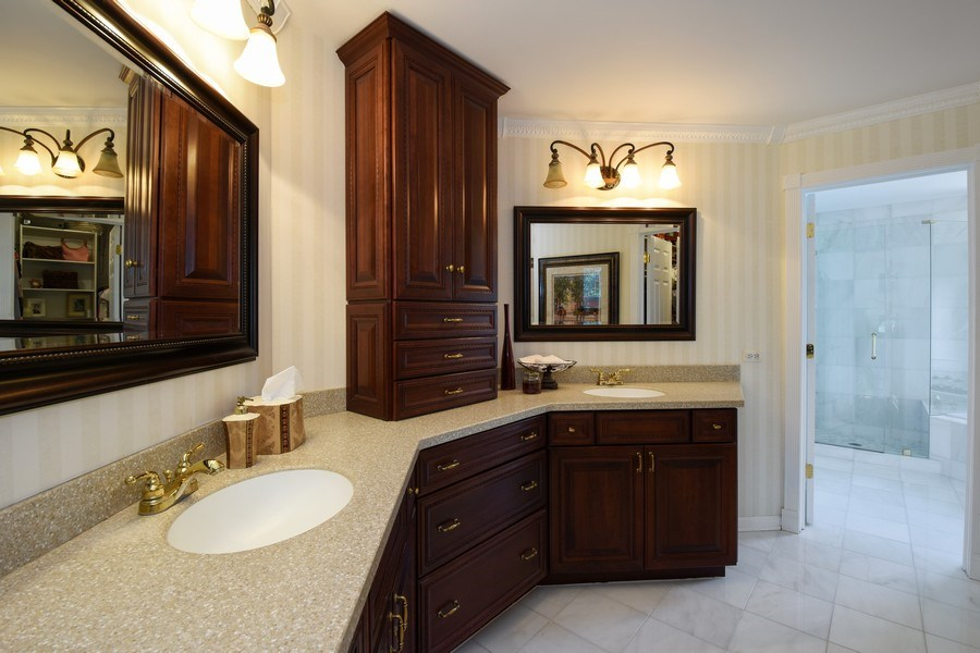 Real Estate Photography - 1074 O'Malley Court, Lake Zurich, IL, 60047 - Master Bathroom
