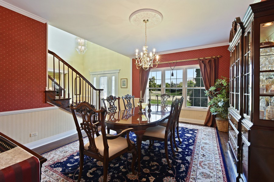Real Estate Photography - 1074 O'Malley Court, Lake Zurich, IL, 60047 - Dining Room