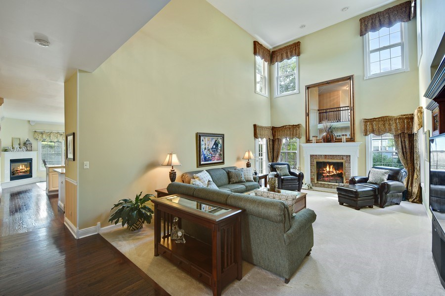 Real Estate Photography - 1074 O'Malley Court, Lake Zurich, IL, 60047 - Great Room