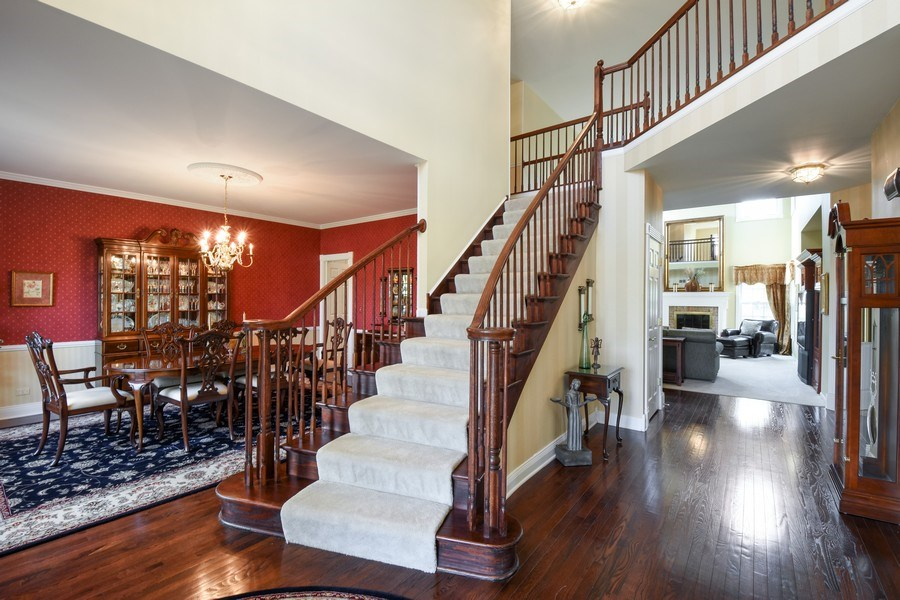 Real Estate Photography - 1074 O'Malley Court, Lake Zurich, IL, 60047 - Foyer