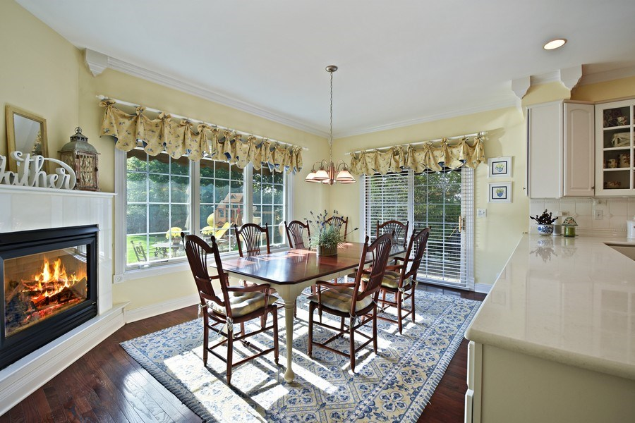 Real Estate Photography - 1074 O'Malley Court, Lake Zurich, IL, 60047 - Breakfast Area