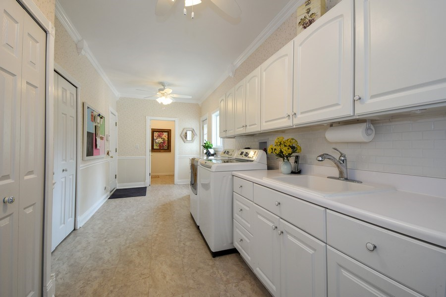 Real Estate Photography - 1074 O'Malley Court, Lake Zurich, IL, 60047 - Laundry Room
