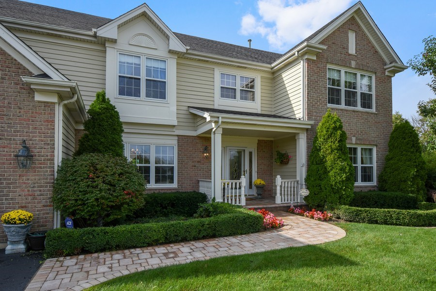 Real Estate Photography - 1074 O'Malley Court, Lake Zurich, IL, 60047 - Front View