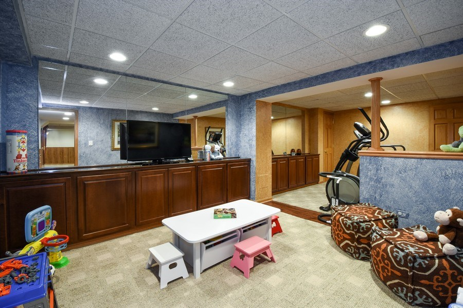 Real Estate Photography - 1074 O'Malley Court, Lake Zurich, IL, 60047 - Play / Recreational Room