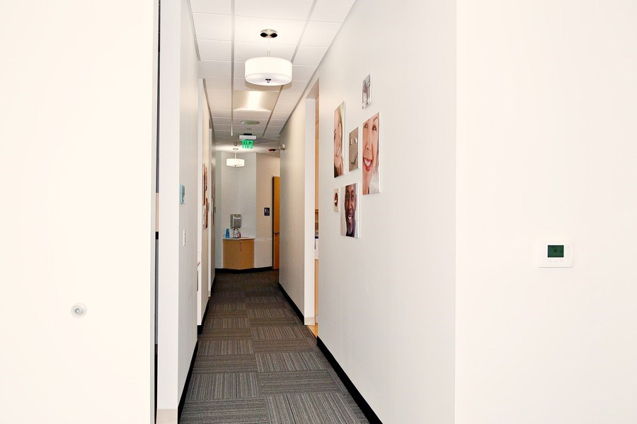 Real Estate Photography - 1810 Washington St., Suite 3&4,Dentists of Hanover, Hanover, MA, 02339 - Hallway