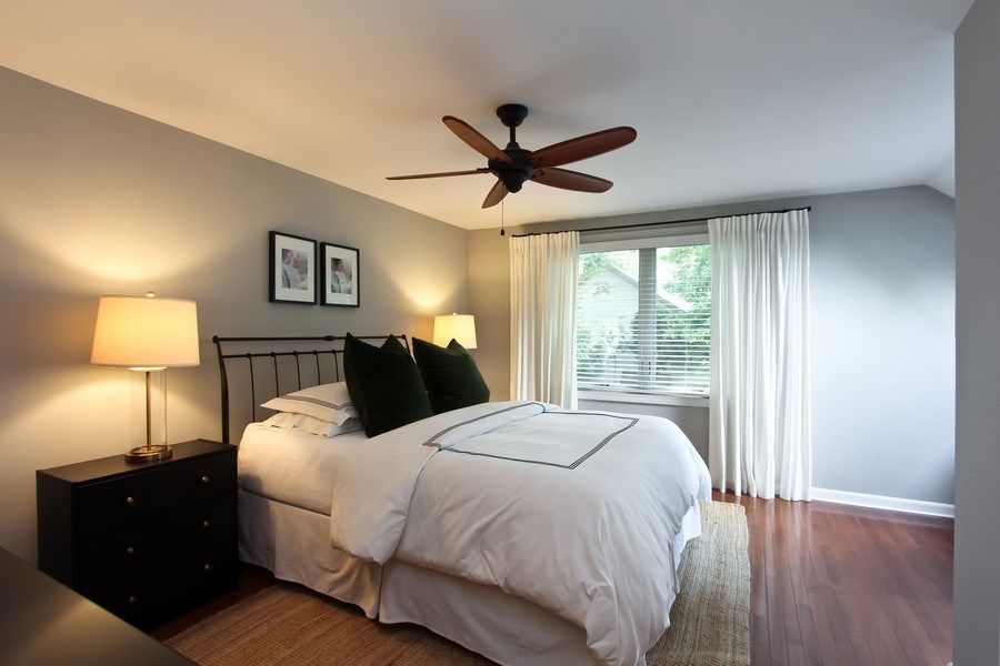 Real Estate Photography - 332 Kim Trail, Lake Zurich, IL, 60047 - Master Bedroom