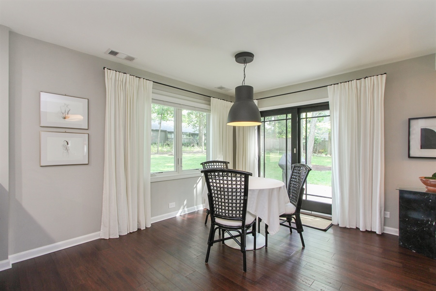 Real Estate Photography - 332 Kim Trail, Lake Zurich, IL, 60047 - Dining Room