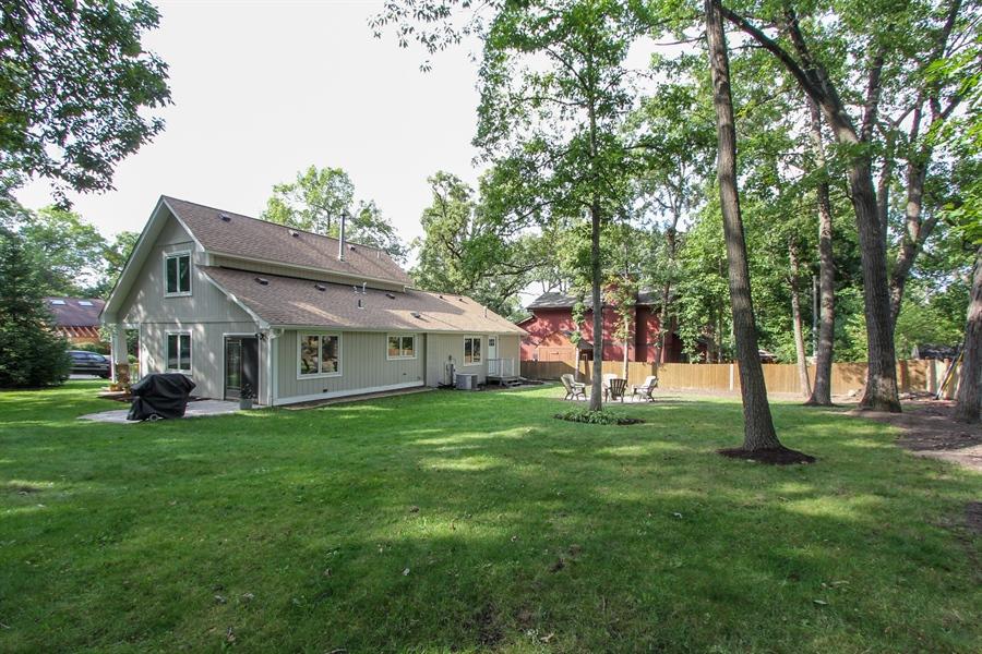 Real Estate Photography - 332 Kim Trail, Lake Zurich, IL, 60047 - Rear View