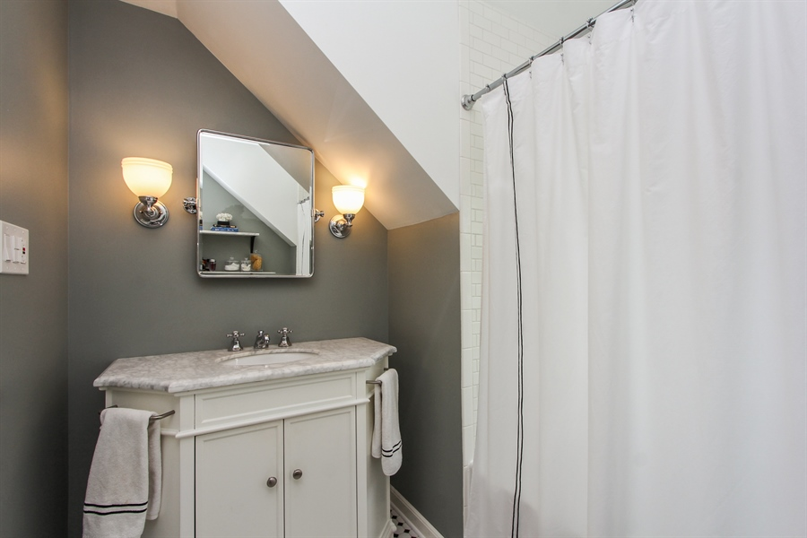 Real Estate Photography - 332 Kim Trail, Lake Zurich, IL, 60047 - Bathroom