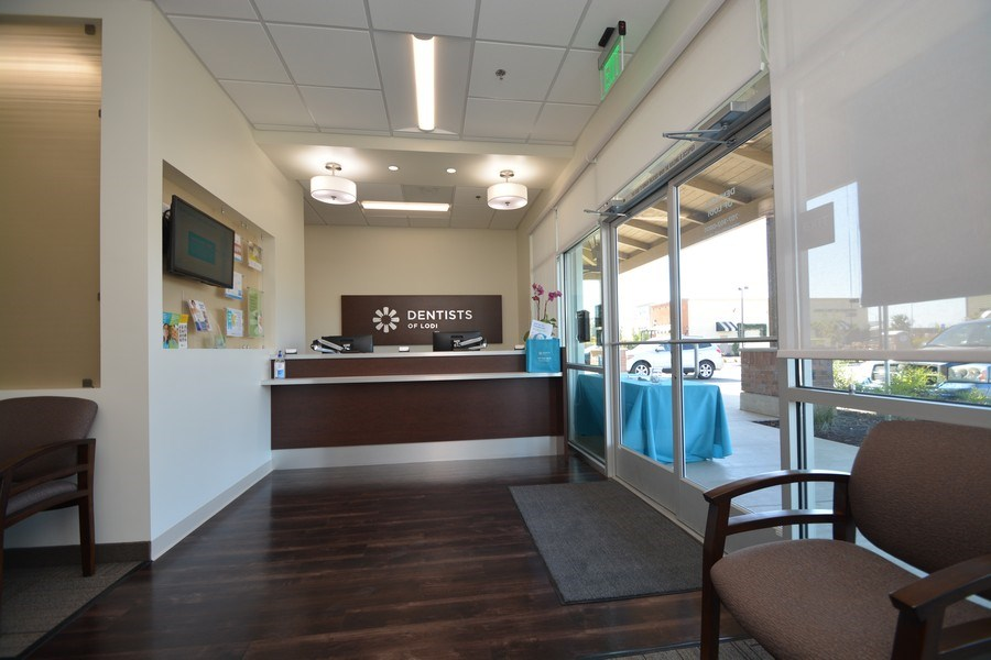 Real Estate Photography - 2610 Reynolds Ranch Parkway, Ste 100,Dentists of Lodi, Lodi, CA, 95240 - Lobby