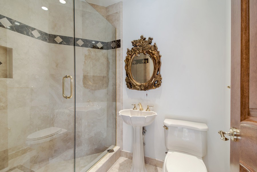 Real Estate Photography - 2641 NE 47th St, Lighthouse Point, FL, 33064 - 3rd Bathroom