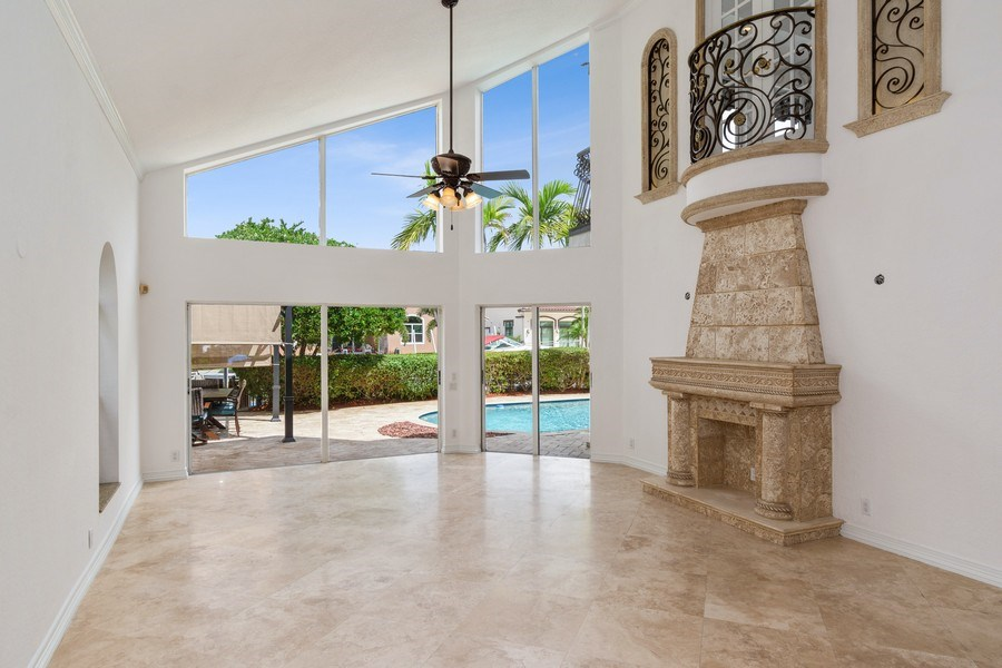 Real Estate Photography - 2641 NE 47th St, Lighthouse Point, FL, 33064 - Living Room