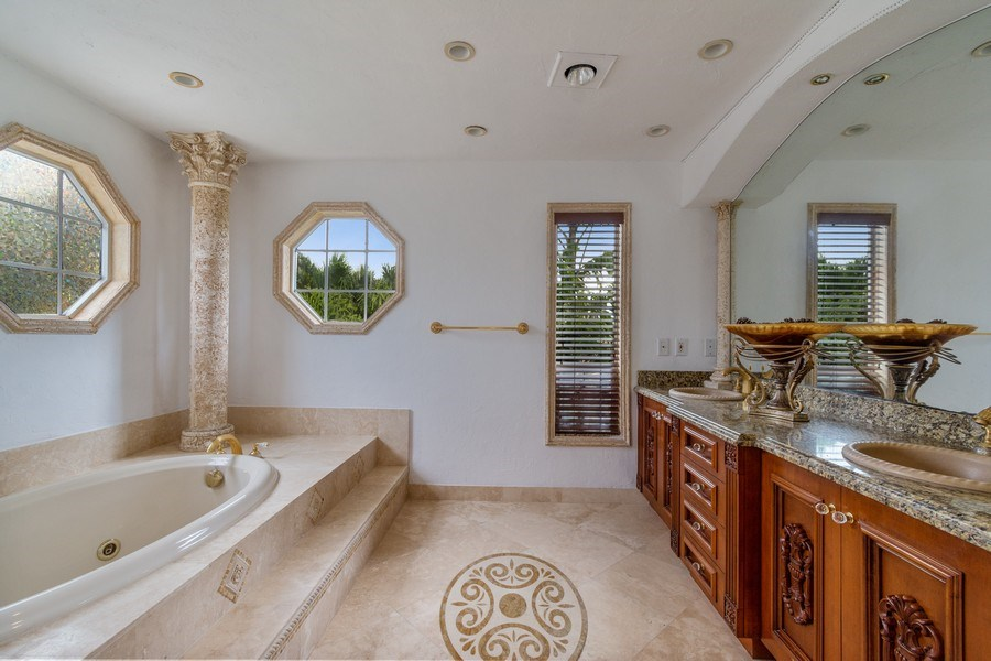 Real Estate Photography - 2641 NE 47th St, Lighthouse Point, FL, 33064 - Master Bathroom