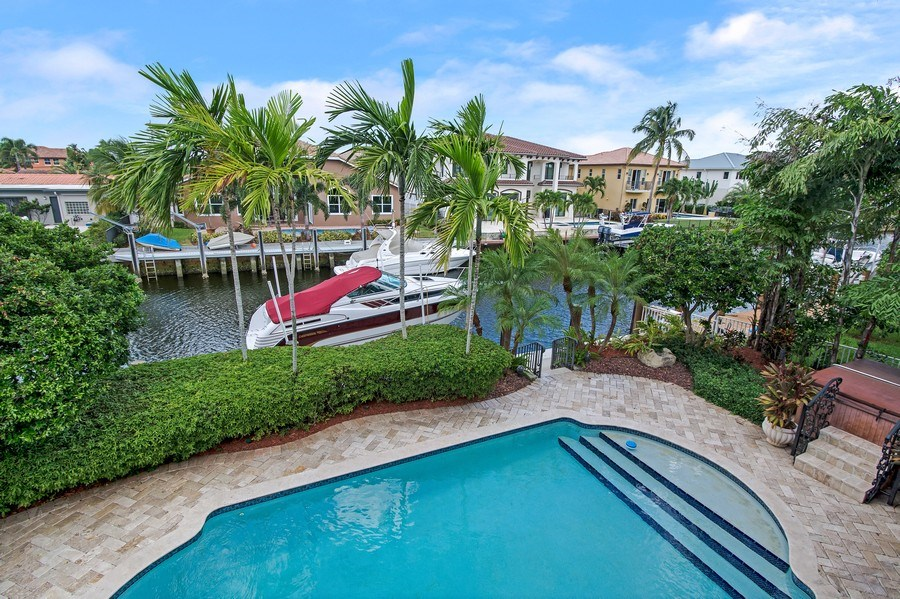 Real Estate Photography - 2641 NE 47th St, Lighthouse Point, FL, 33064 - View