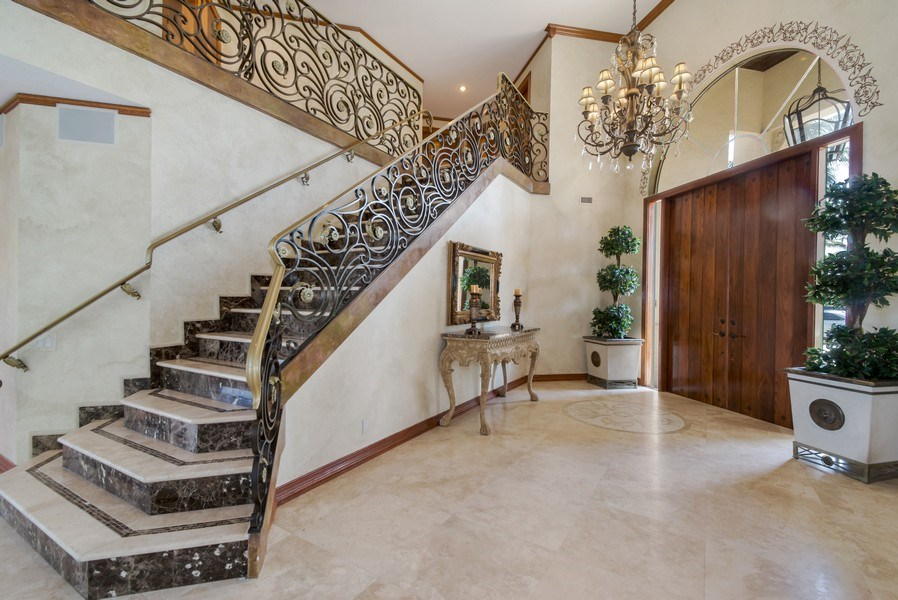 Real Estate Photography - 2641 NE 47th St, Lighthouse Point, FL, 33064 - Foyer