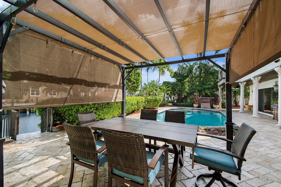 Real Estate Photography - 2641 NE 47th St, Lighthouse Point, FL, 33064 - Patio