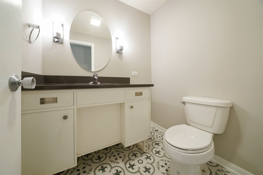 Real Estate Photography - 7 E Jackson St, Villa PArk, IL, 60181 - Powder Room
