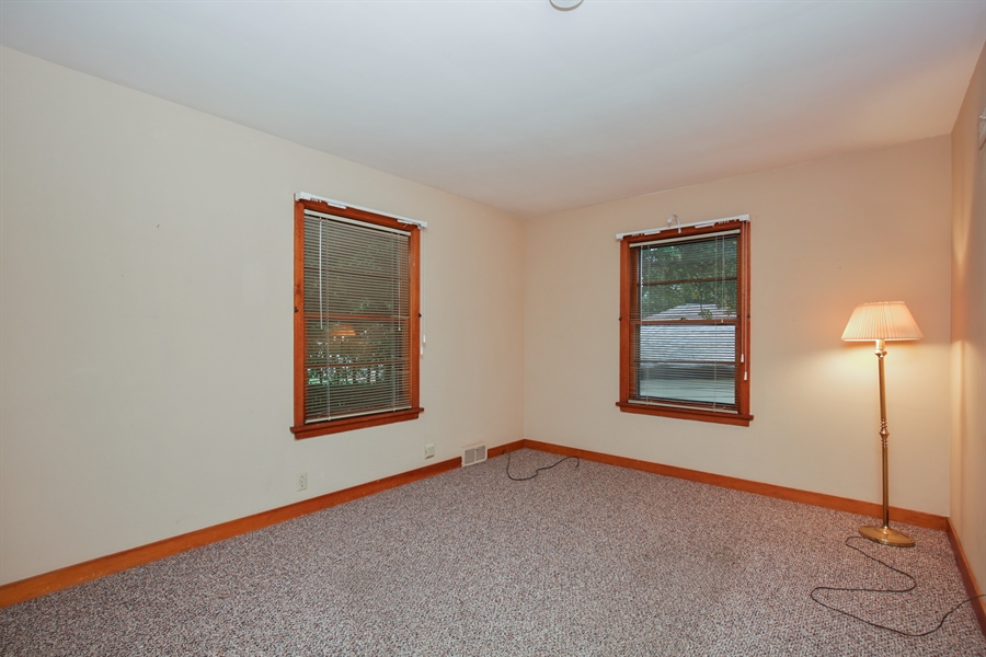 Real Estate Photography - 100 S. Alfred Ave., Elgin, IL, 60123 - Master Bedroom