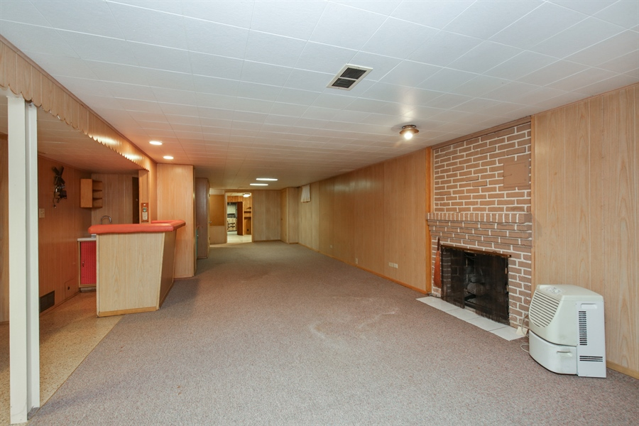 Real Estate Photography - 100 S. Alfred Ave., Elgin, IL, 60123 - Lower Level