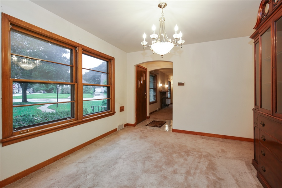 Real Estate Photography - 100 S. Alfred Ave., Elgin, IL, 60123 - Dining Room