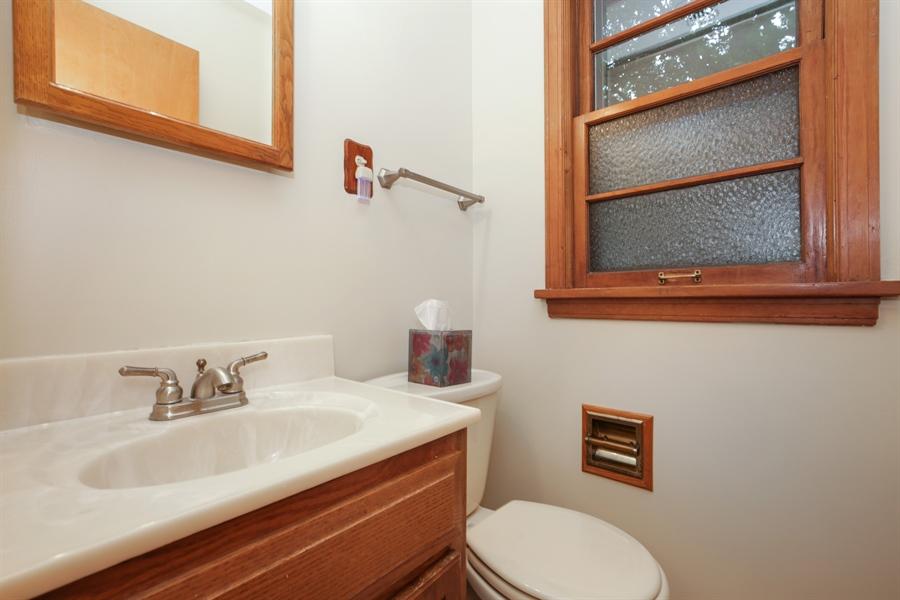 Real Estate Photography - 100 S. Alfred Ave., Elgin, IL, 60123 - Half Bath