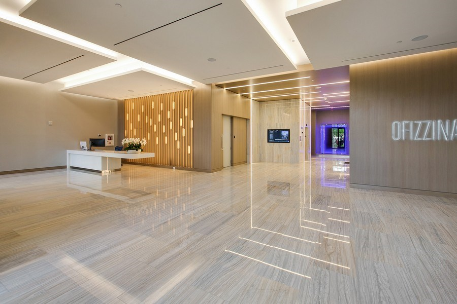 Real Estate Photography - 1200 Ponce Leon Blvd, Ste 703-704, Coral Gables, FL, 33134 - Building Lobby