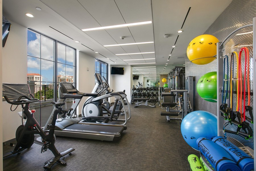 Real Estate Photography - 1200 Ponce Leon Blvd, Ste 703-704, Coral Gables, FL, 33134 - Gym
