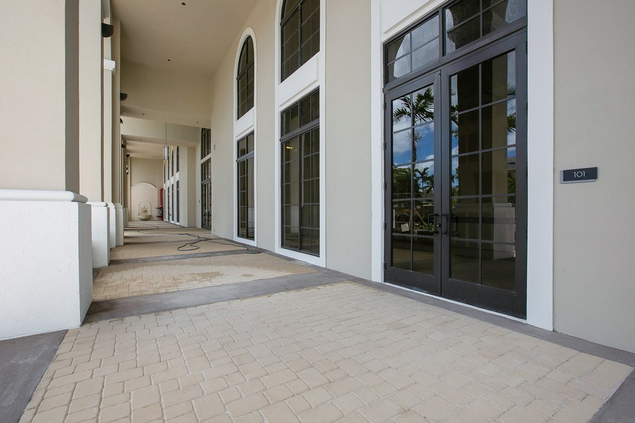 Real Estate Photography - 1200 Ponce Leon Blvd, Ste 703-704, Coral Gables, FL, 33134 - Building Main Entrance