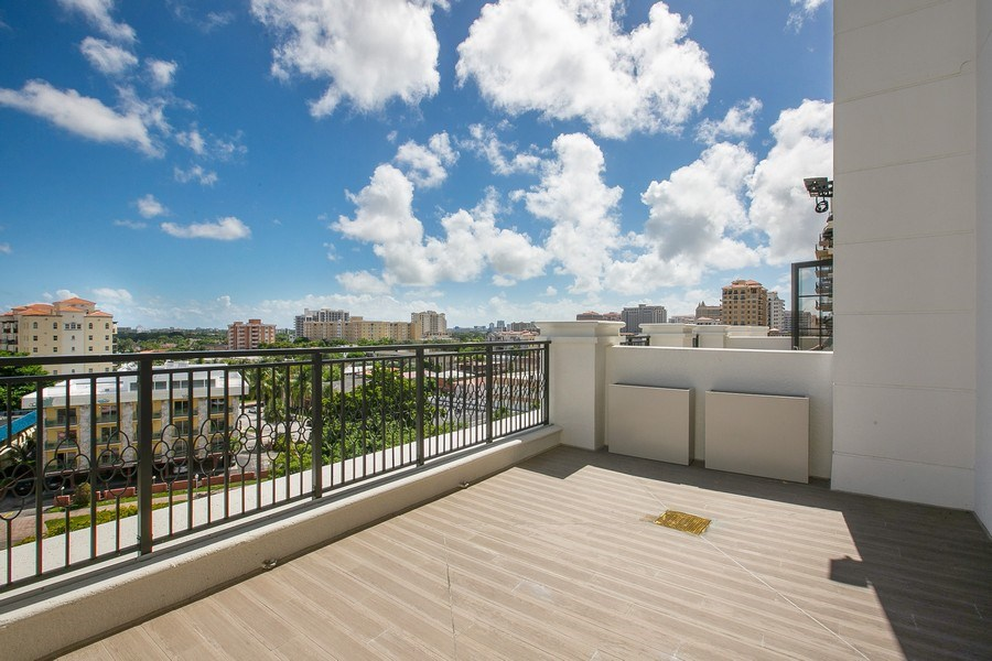 Real Estate Photography - 1200 Ponce Leon Blvd, Ste 703-704, Coral Gables, FL, 33134 - Suite Terrace