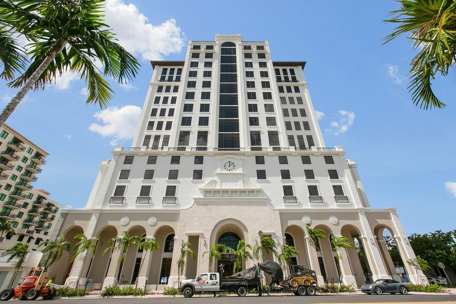 Real Estate Photography - 1200 Ponce Leon Blvd, Ste 703-704, Coral Gables, FL, 33134 - Building Exterior