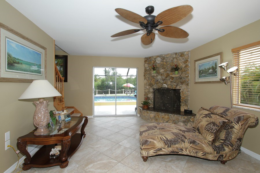 Real Estate Photography - 7146 Shannon Blvd, Fort Myers, FL, 33908 - Living Room