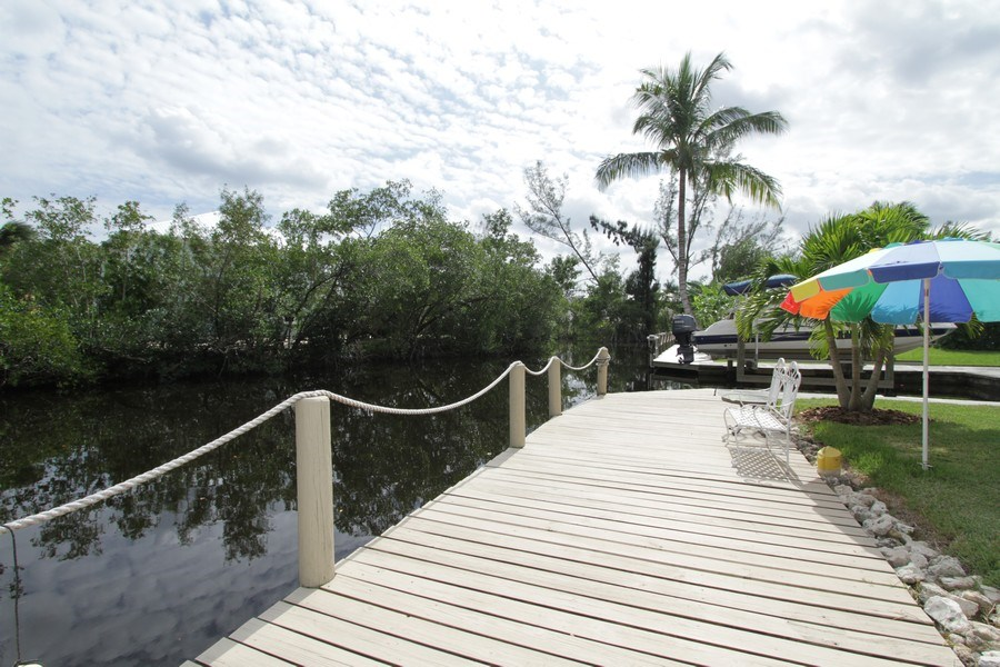 Real Estate Photography - 7146 Shannon Blvd, Fort Myers, FL, 33908 - Dock
