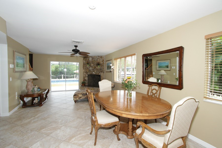 Real Estate Photography - 7146 Shannon Blvd, Fort Myers, FL, 33908 - Dining Room