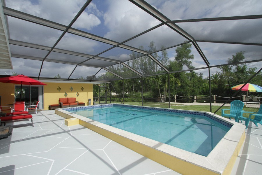 Real Estate Photography - 7146 Shannon Blvd, Fort Myers, FL, 33908 - Pool