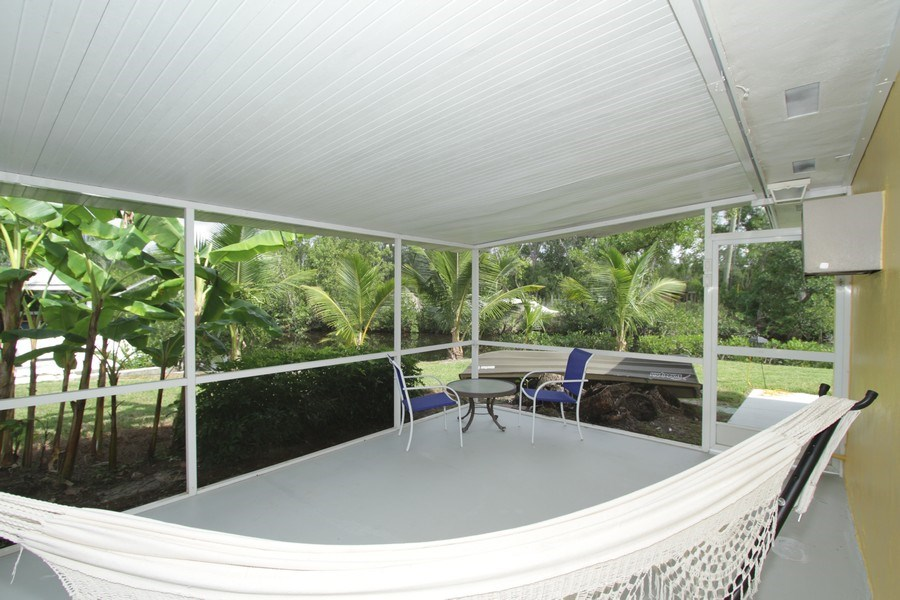 Real Estate Photography - 7146 Shannon Blvd, Fort Myers, FL, 33908 - Patio