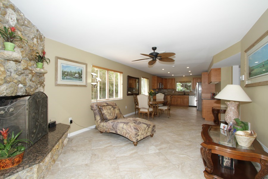 Real Estate Photography - 7146 Shannon Blvd, Fort Myers, FL, 33908 - Living Room / Dining Room