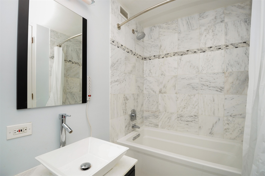 Real Estate Photography - 900 N. Lake SHore Drive, #1703, Chicago, IL, 60611 - Master Bathroom