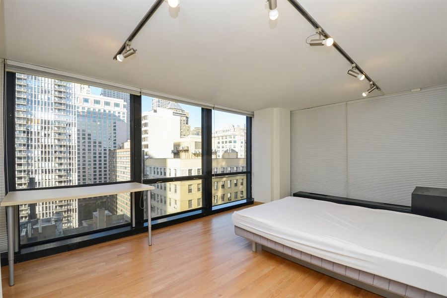 Real Estate Photography - 900 N. Lake SHore Drive, #1703, Chicago, IL, 60611 - Master Bedroom