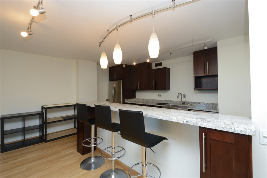 Real Estate Photography - 900 N. Lake SHore Drive, #1703, Chicago, IL, 60611 - Kitchen